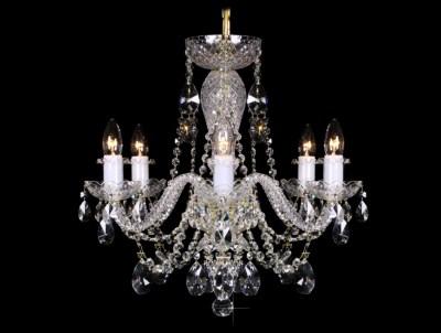 Křišťálový lustr Grande R6 Bohemia skleněný