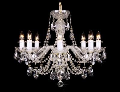 Křišťálový lustr Grande R8 Bohemia skleněný