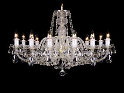 Křišťálový lustr Grande R12 Bohemia skleněný