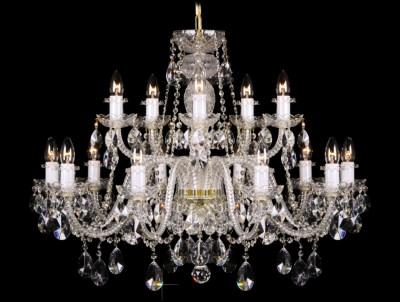 Křišťálový lustr Grande R15 Bohemia skleněný