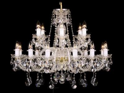 Křišťálový lustr Grande R18 Bohemia skleněný