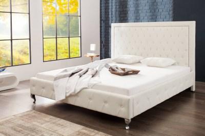 Designová manželská postel Spectacular bílá 180 x 200cm