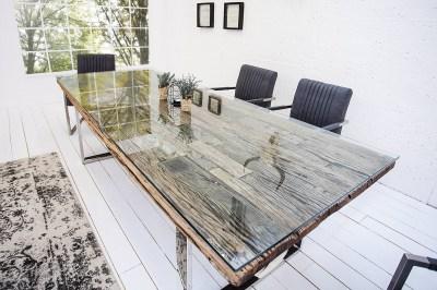 Luxusní jídelní stůl z masivu Shark 240cm