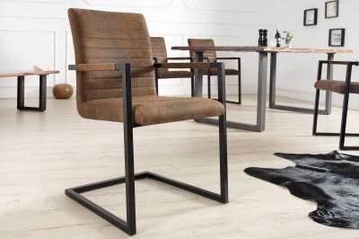 Luxusní jídelná židle Imperium Antik hnědá