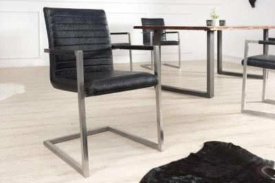 Luxusní jídelná  židle Imperium Antik černá