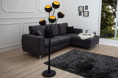 Stojanová lampa 5 Sigma 170cm zlatá
