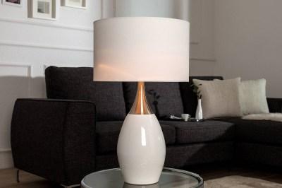 Stolní lampa Aaria 60 cm bílá