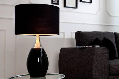 Stolní lampa Aaria 60 cm černá