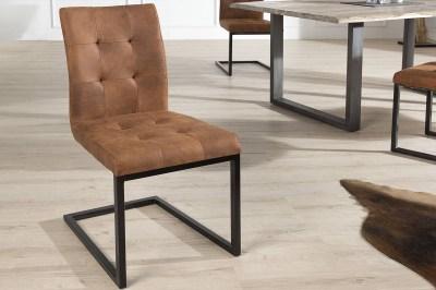 Jídelná židle vintage English hnědá