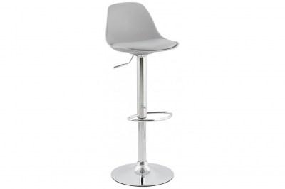 Moderní barová židle Landon šedá