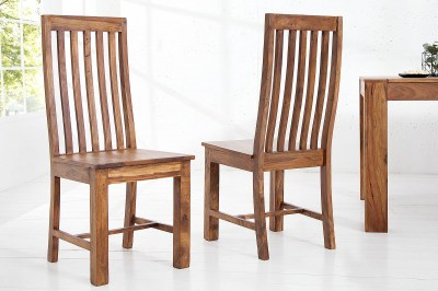 Dizajnová jídelná židle Timber