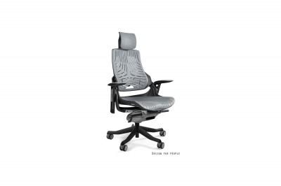 Kancelářská židle Wanda elastomer šedá