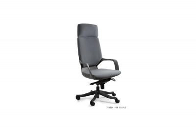 Kancelářská židle Amanda černá / šedá