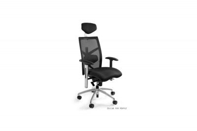 Kancelářská židle Ester s barevným sedadlem