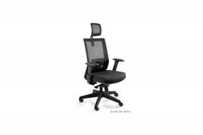 Kancelářská židle Nataly s barevným sedadlem