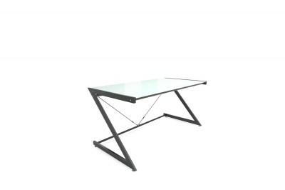 Dizajnový stůl Prest bílá/ černá