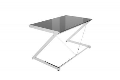 Dizajnový stůl Brik chromovaný černá