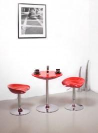 Dizajnová barová stolička Sasha