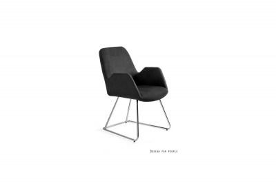 Designová stolička Catherine černá