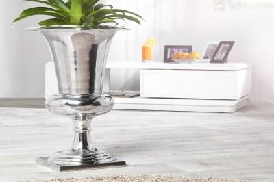 Váza Gracie 75 cm stříbrná