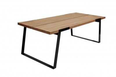Luxusný jedálenský stôl Zora 240 cm  prírodná/čierna
