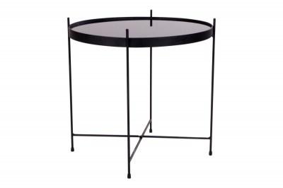 Designový konferenční stolek Tatum 48 cm černý