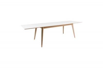 Roztahovací stůl Ronald 285, přírodní / bílý