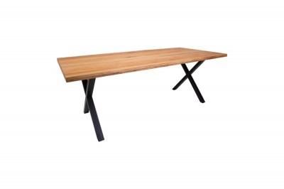 Designový jídelní stůl Finnegan, světlý dub
