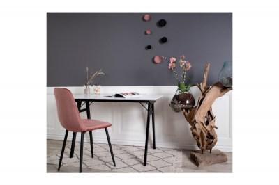 Designový psací stůl Carmen, bílý / černý
