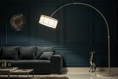 Stojanová lampa Ample bílá