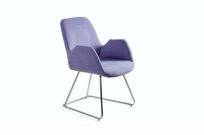Designová stolička Catherine modrá
