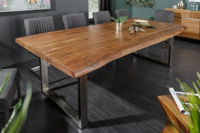 Luxusní jídelní stůl z masivu Massive II New Honey 220cm