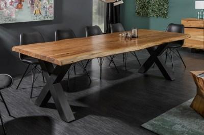Luxusní jídelní stůl Massive X 200 cm akácie honey