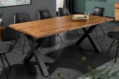 Jídelní stůl Massive X Honey 160 cm - tloušťka 35 mm - akácie