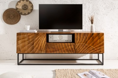 Designový TV stolek Shayla 160 cm mango