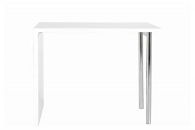 Bílý barový stůl Neal 120 cm
