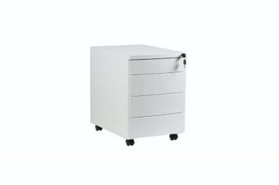 Stylová skříňka Carmel bílá