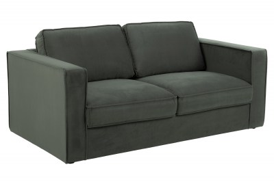 Designová 2-místná sedačka Danette 176 cm šedá