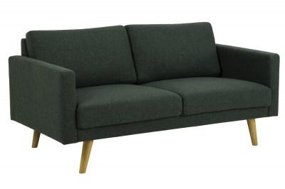 Designová 2-místná sedačka Danson 160 cm zelená