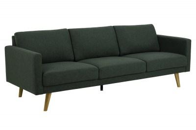 Designová 3-místná sedačka Danson 221 cm zelená