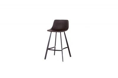 Designová barová židle Claudia tmavě šedá