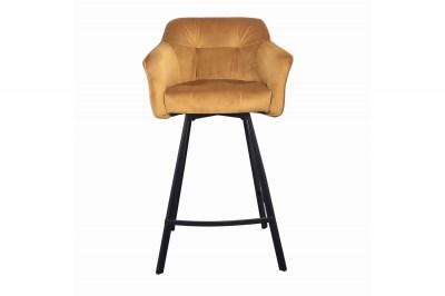 designova-barova-zidle-s-podruckami-giuliana-100-cm-horcicovy-samet-002