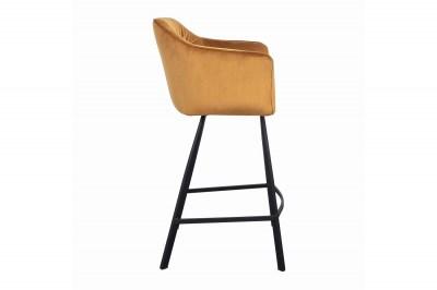designova-barova-zidle-s-podruckami-giuliana-100-cm-horcicovy-samet-003