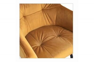designova-barova-zidle-s-podruckami-giuliana-100-cm-horcicovy-samet-005
