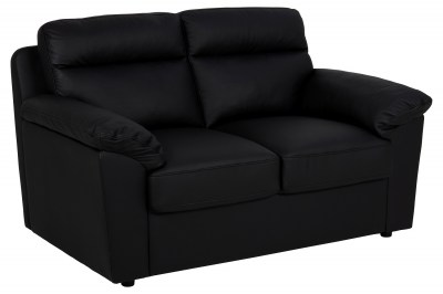 Designová dvojsedačka Darsha 146 cm černá