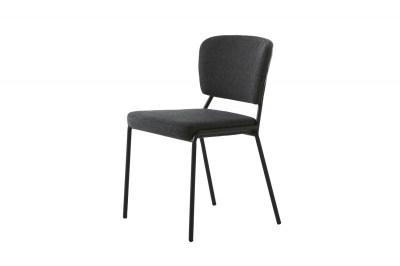 Designová jídelní židle Alissa šedá