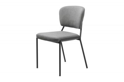 Designová jídelní židle Alissa světlešedá