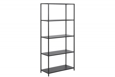 Designová knihovna Layton 150 cm černá