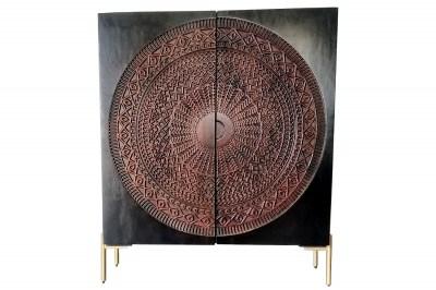 Designová komoda Fernanda 120 cm černé mango