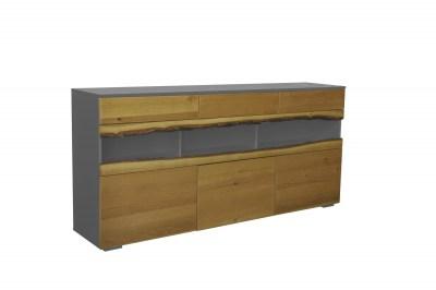 Designová komoda Kira 180 cm dub - šedý